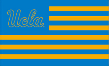 UCLA basketball Flag through polyester digital printing 3x5ft with metal Grommets