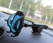 Car Phone Holder GPS Accessories Suction Cup Soporte Celular Para Auto Dashboard Retractable Mount Stand 6.5 inch Smartphones