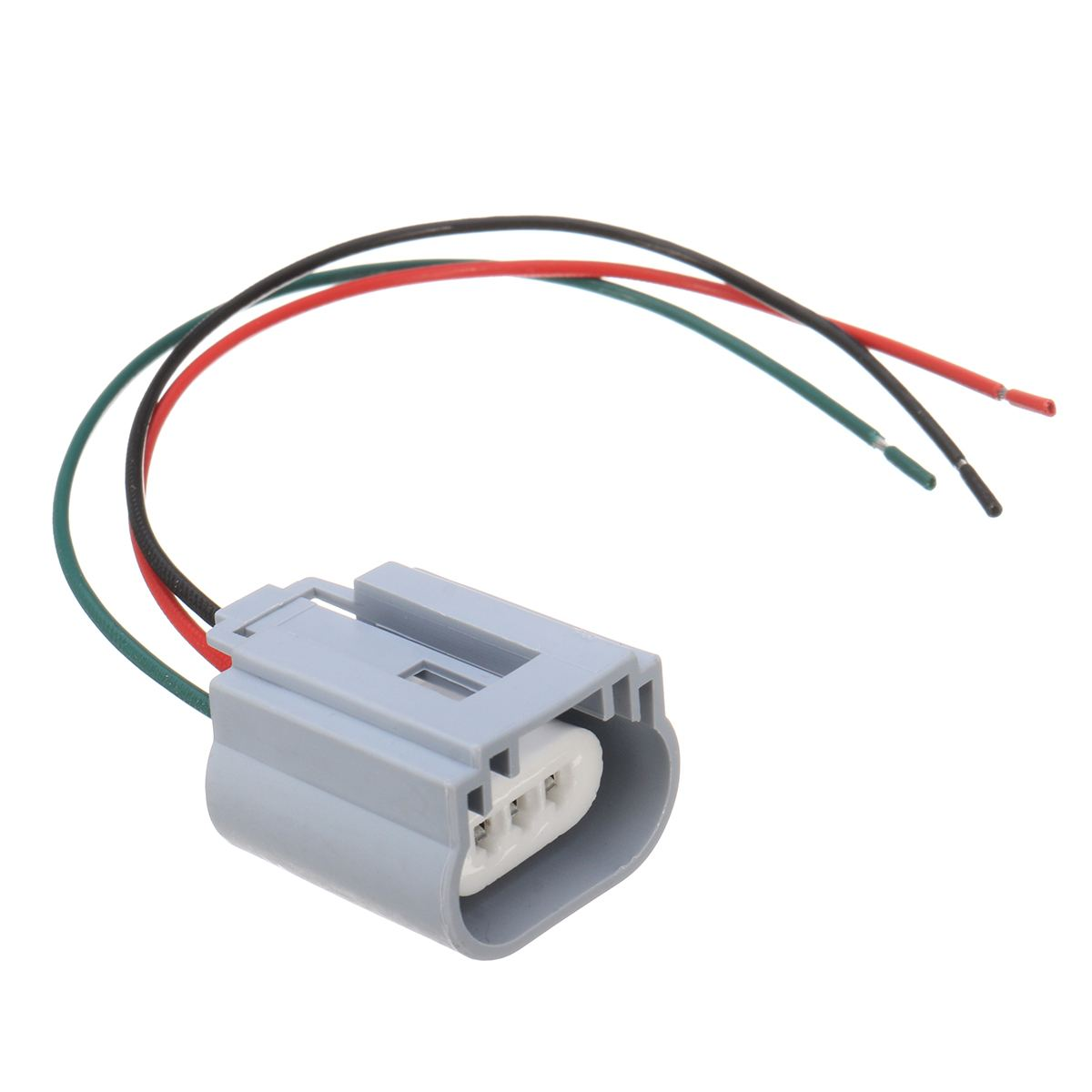 2 x H13 Male Plug to H13 Female Socket Converter Cable Harness Connector Adapter