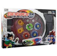 4D Launcher Grip Beyblade Set Metal Master Fusion Top Rapidity Fight Rare Toy