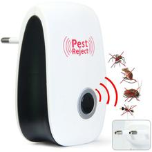 1pc Hot Enhanced Version Electronic Cat Ultrasonic Mosquito Repeller Mouse Repellent Cockroach Pests Reject  -39