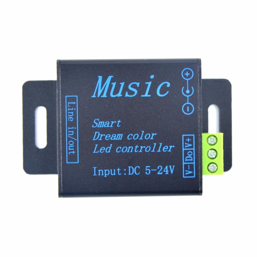 DC 5-24V WS2812B WS2811 LED Symphony music controller LED light bar module<br>
