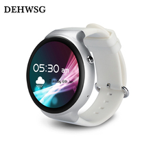 DEHWSG Android 5.1 Smart watch IQI I4 MTK6580 1GB RAM 16GB ROM wristwatch support Heart rate 3G WiFi GPS watch phone For Android