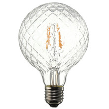 Vintage Edison Bulb COB LED Light E27 4W Pineapple Filament Bulb Pendant Lamp Decor Lighting Warm White AC85-265V