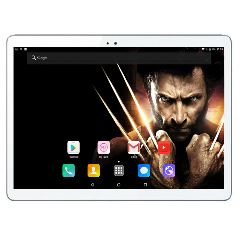 Free shipping 10 inch 3G Tablet Octa Core 4GB RAM 64GB ROM IPS 1280*800 dual sim cards Dual Cameras 10.1 GPS Tablet+Gifts(China)