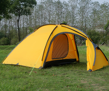 Hillman Qingyun 4 one bedroom and one living room 4-5 person waterproof windproof double layer camping tent