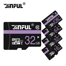 100% Original micro SD card 64GB 32GB 8GB 16GB HIGH Speed Memory card mini purple TF cards SDXC SDHC for phone tablet(China)