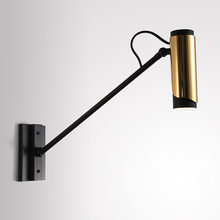 Loft Northern Europe Designer Simple Modern Originality Flos LED Wall Lamp Bedroom Living Room Background Lights Freeshipping