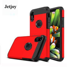 JETJOY For Apple iPhone 10 X Ten Case Matte Ultra Thin Shockproof Projector Armor Guard Spell Color Full Cover Fudas Business(China)