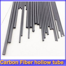 8pcs/lot New Carbon Fiber Hollow Tube 3K for Quadcopter Multicoptor 3mm/4mm/5mm/7MM (500mm length) wholesale