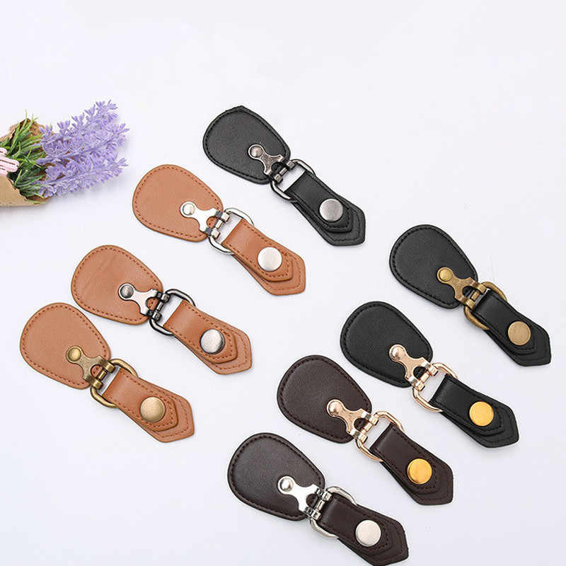 6bc221fb66e 2 Pairs Faux Leather Combined Snap Buttons 12.4 Cm High Quality Fasten  Buttons for Bags Fur