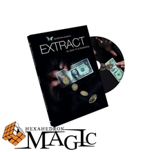 Free shipping New arrival Extract (with Gimmick) by Jason Yu and SansMinds close-up card magic trick products / wholesale(China)