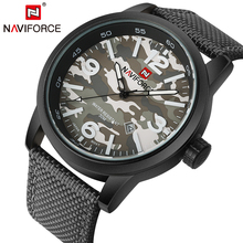 2017 New Luxury Brand NAVIFORCE Men Army Military Watches Men's Quartz Clock Male Fashion Sports Wrist Watch Relogio Masculino(China)