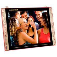 DVD player movie 23 inch VCD EVD HD video player Elderly Square Dance TV Radio Speaker support Card U disk MP3 Video machine(China)
