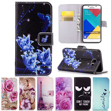 Flip Leather Phone Case Wallet Stand Cover for Samsung Galaxy A3 A5 J5 J7 2015 2016 Core Grand G530 G360 S3 S4 S5 S6 S7 Edge