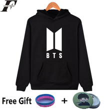LUCKYFRIDAYF BTS Kpop Moletom Harajuku Cap Hoodies Women Fans Bangtan Hip Hop Sweatshirt Women Long Autumn Female Clothes
