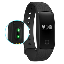 TGETH V05C Wristband Watch Heart Rate Monitor Remote Bluetooth Bracelet Fitness Reminder PK Xiomi MI Band 2 Fitbits Cicret