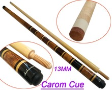 Free Shipping Shakarce New Carom Cues 13MM Cue Tips 1/2 Split Pool Cue Maple Wood Jointed Carom Billiards Cue Stick High Quality