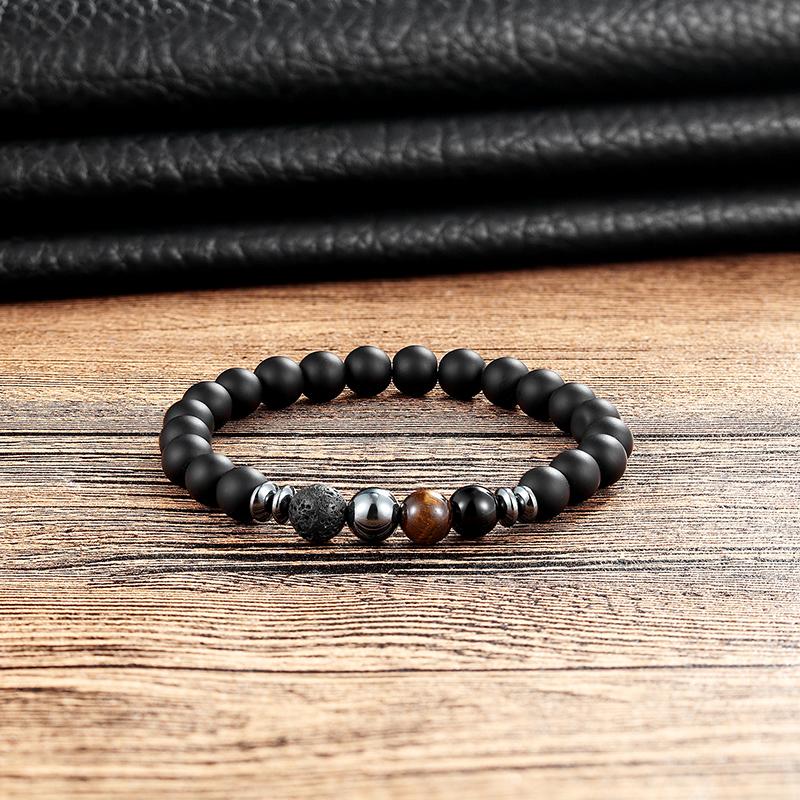 Bracelet en pierre naturelle moderne