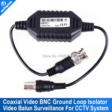 Coaxial Video Ground Loop Isolator Built in Video BALUN BNC Video Surveillance cctv system