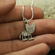 1pcs wholesale Cute Cartoon  tiger Necklace pendants for women necklace Animal jewelry Simple Summer  necklaces gift for friend