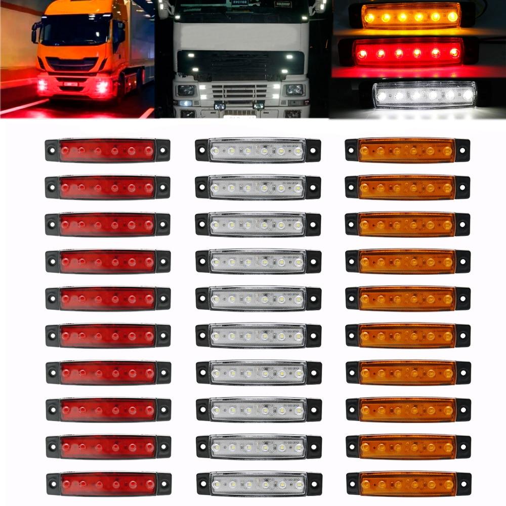 remolques 2 luces LED de posici/ón de 24 V para chasis autobuses. camiones