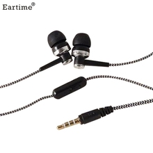 Best Price 3.5mm Earphones headphones Metal headset In-Ear Earbuds For Mobile phones computers MP3 MP4 player Nov30