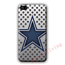 Dallas Cowboys Metal Mesh Plates fashion cell phone case cover for iphone iphone 4 4s 5 5s 5c SE 6 6s plus 7 plus #X221