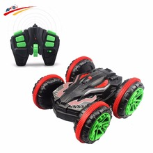 RC Buggy 2.4Ghz 4WD Powerful Extreme Stunt Amphibious Remote Control Car Drives on Land and Water With 360 Degree Spins / Flips
