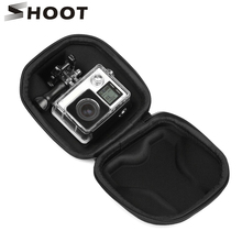 SHOOT Protable Waterproof Mini Box Camera Case for Gopro Hero 5 4 3 Session SJCAM Xiaomi Yi 4K Camera Case Go Pro Accessories(China)