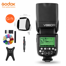 Godox Ving V860II V860II-S/N/C/F/O GN60 E-TTL HSS 1/8000 Li-ion Battery Speedlite Flash for Sony Nikon Canon Olympus Fujifilm(China)