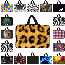 Leopard Fashion 10 10.1 12 Inch Tablet Mini PC Soft Inner Cases Bag For Android Tablet 13 14 15 16 17 Inch Notebook Laptop Bags