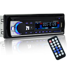 Bluetooth Autoradio 1 Din In-dash New Bluetooth Car Vehicle Stereo Audio Receiver Support SD USB MP3 Radio Player(China)