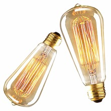 Industrial Style Vintage Retro Edison Filament 110V/220V 40/60W Light Bulb Lamp Useful(China)