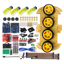 Multifunction Bluetooth Controlled Robot Smart Car Kits Tons of Published Free Codes for arduino Compatible with UNO