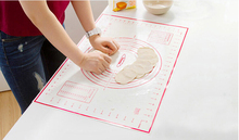 Non Stick Silicone Baking Mat Kneading Dough Mat Baking Rolling pastry Mat Bakeware Liners Pads Cooking Tools(China)
