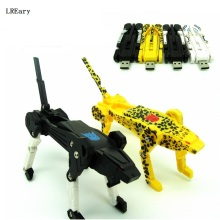 new robot dog USB Flash Drive pen drive 4GB 8GB 16GB 32GB u disk pendrive memory stick cool gift usb 2.0(China)