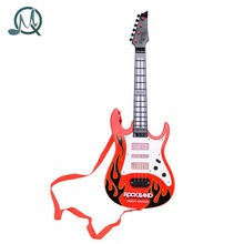 MQ Rock Band Music Electric Guitar 4 Strings Kids Musical Instruments Educational Toy