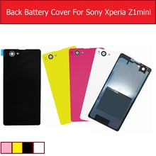 Buy Rear Battery Door Housing Glass Cover Sony Xperia Z1 Mini / Z1 Compact M51W D5503 Glass back Cover case + 1piece film Free for $1.89 in AliExpress store