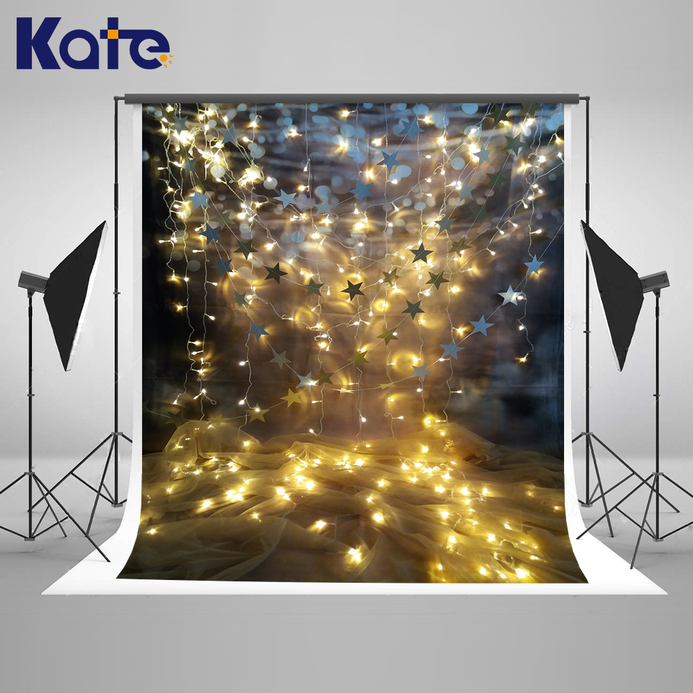 KATE 150x220cm Photo Background Backdrop Window Wedding Romantic Background Bright Star Background for Studio US Delivery<br>