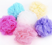 Low Price Foreign trade Hot sale mesh sponge bath ball sponge bath flower milk shower gel special loofah(China)
