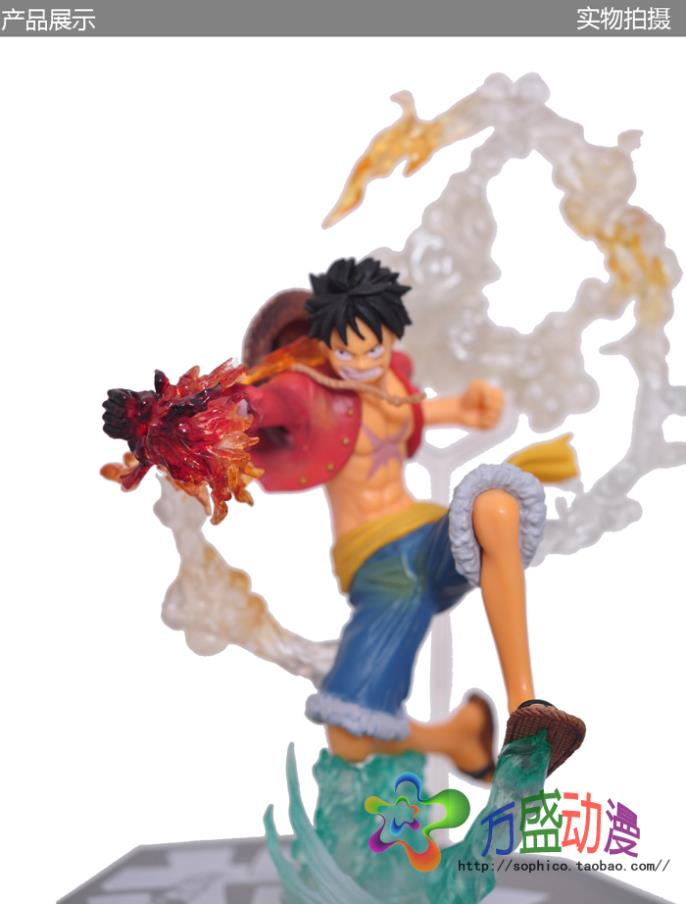 Free Shipping new style  20cm Genuine Original edition BANDAI Tamashii One Piece Fighting Edition Luffy action figures<br><br>Aliexpress