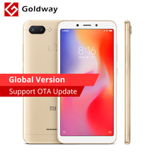 "Global Version Xiaomi Redmi 6 3GB RAM 64GB ROM Helio P22 Octa Core 12MP+5MP Dual Cameras 5.45"" 18:9 Full Screen Smartphone"