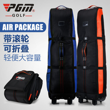 100 % Padded Golf holiday travel cover / bag case with wheels.Durable Golf Aviation Bag with Roller(China)