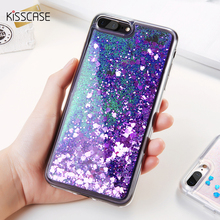 KISSCASE Bling Dynamic Sequin Phone Cases iPhone 6 6s Plus 5s SE Cover Glitter Quicksand Covers iPhone 7 7 Plus Case