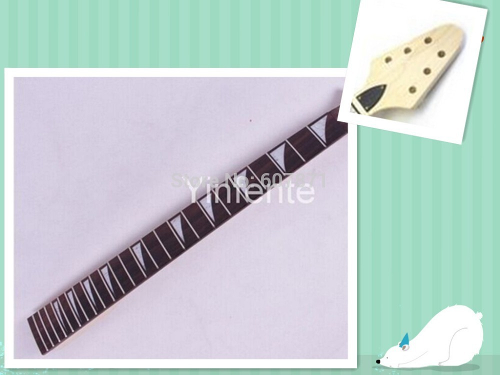 one  74 # Guitar neck electric guitar neck Mahogany maple   ROSEWOOD fingerboard 24fret 25.5 floyde rose<br><br>Aliexpress