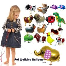 1Pc Horse dog Helium Pet Walking Balloon Baby Shower Animal Foil Balloon Party/Birthday/Wedding Decorations A4