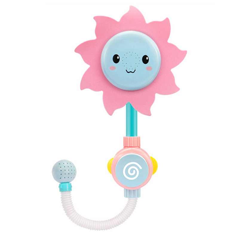 2018 Kawaii Baby Bath Toy Sunflower Shower Faucet Bath Water Play ...