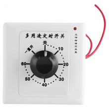 220V 10A Multi-functional Water Pump 60 Minutes Timer Controller Manual Operated Switch Countdown Control(China)
