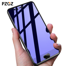 Pzoz huawei p10 glass tempered full cover prime screen protector hawei p 10 protector film 2.5D huawei p10 glass 5.1 inch 4GB(China)